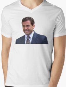 Michael Scott Mens V-Neck T-Shirt