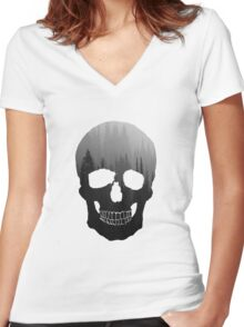 Head in the Trees Women's Fitted V-Neck T-Shirt