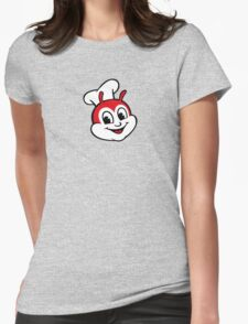 Classic Jollibee fast food logo Womens Fitted T-Shirt