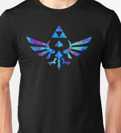 Skyward Sword Paint Blue Unisex T-Shirt