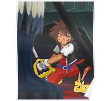 KH: Riku-Ansem Battle Poster