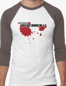 Original Henchmen #3 Men's Baseball ¾ T-Shirt