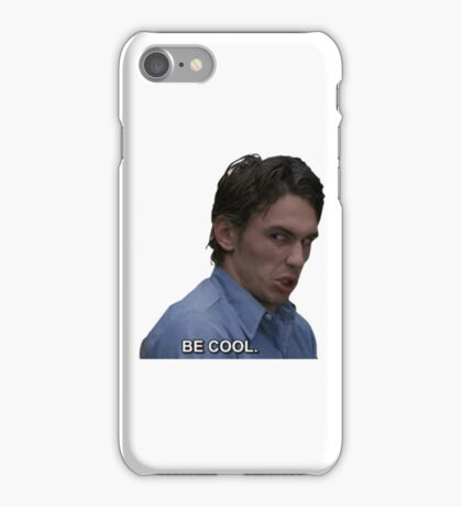 james says be cool iPhone Case/Skin