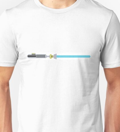 Pixel Art Star Wars Lightsaber Unisex T-Shirt