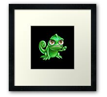Serious Pascal is Serious Framed Print