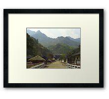 KBS studios, Mungyong, Southkorea Framed Print