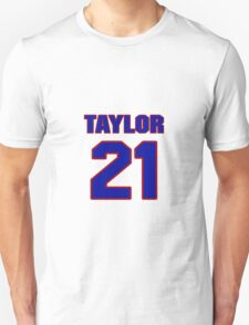 Basketball player Donell Taylor jersey 21 T-Shirt