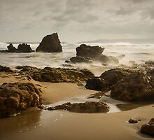 River Rocks, Aireys Inlet by Heather Davies