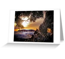 Stirling at Sunrise Greeting Card