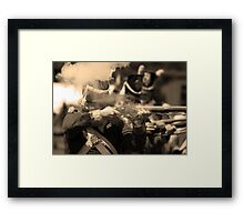 """Up in Smoke"" Framed Print"