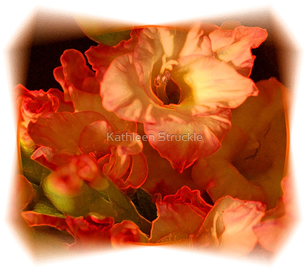Soft Orange by Kathleen Struckle