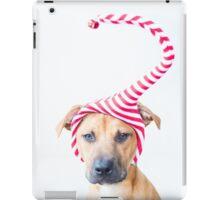 Christmas Elf Dog iPad Case/Skin