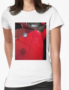 Red Scooter Womens Fitted T-Shirt