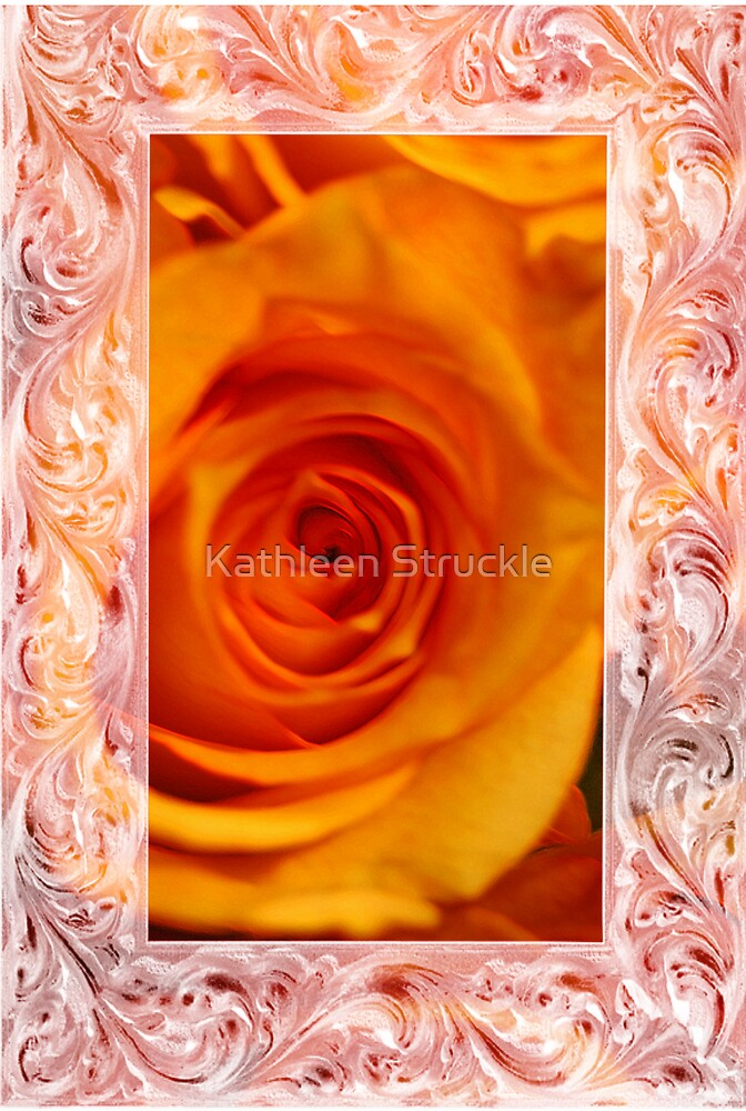 Orange Glow by Kathleen Struckle