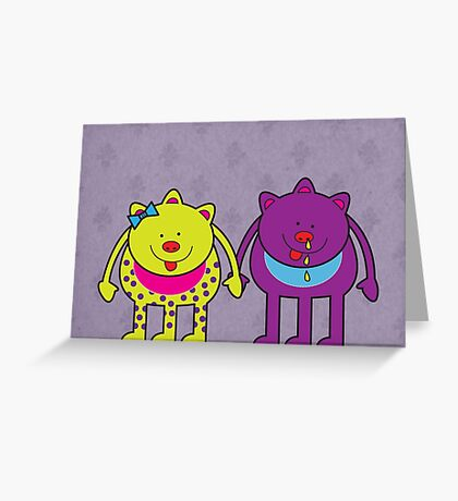 Spot and Snot Greeting Card