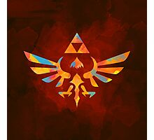 Skyward Sword Paint Orange Photographic Print
