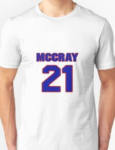 Basketball player Scooter McCray jersey 21 T-Shirt