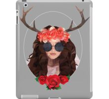Analog girl in a digital world  iPad Case/Skin
