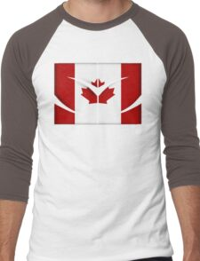 SZ Ole Canada Men's Baseball ¾ T-Shirt