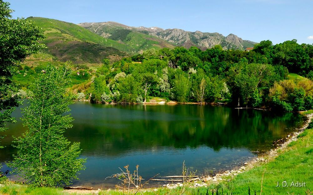 A lake Hidden by J. D. Adsit