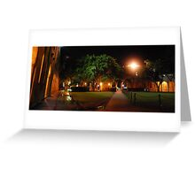 Between the Paths Greeting Card