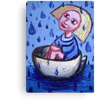 Storm In A Tea Cup Canvas Print