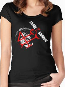 Loose F'N Cannon Women's Fitted Scoop T-Shirt