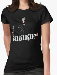What Would King Do? Womens Fitted T-Shirt