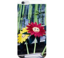 Smiling Flowers iPhone Case/Skin