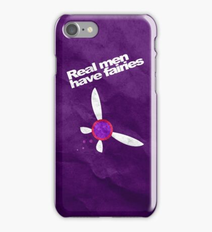 Real Men Have Fairies Tael iPhone Case/Skin