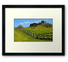 Santa Ynez Ranch Framed Print