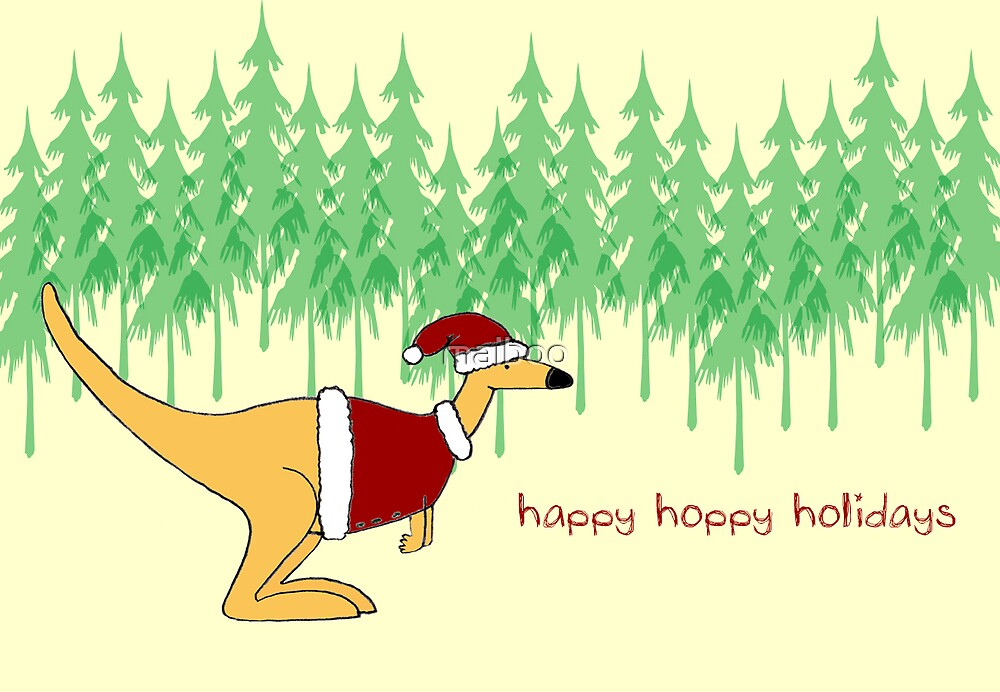 Happy Hoppy Holidays by maiboo