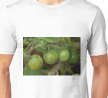 Green Tomatoes in the Rain Unisex T-Shirt