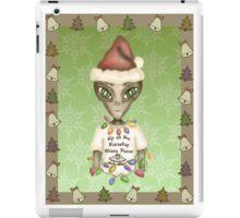 Extraterrestrial Elf iPad Case/Skin