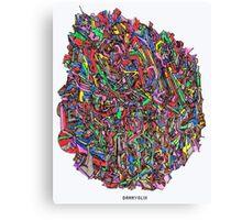 clob Canvas Print