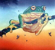 Moonlight Frog by BettiOliver