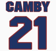 Basketball player Marcus Camby jersey 21 by imsport