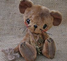 Jerry Mouse - Handmade bears from Teddy Bear Orphans by Penny Bonser