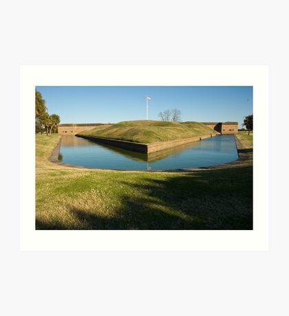 Fort Pulaski Art Print