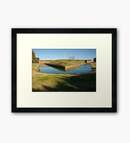 Fort Pulaski Framed Print