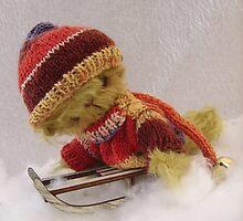 Bamber - Handmade bears from Teddy Bear Orphans by Penny Bonser