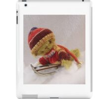 Bamber - Handmade bears from Teddy Bear Orphans iPad Case/Skin