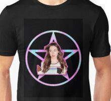 Aubrey Plaza Pentagram Unisex T-Shirt