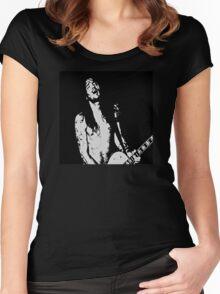 John Frusciante - Solo Women's Fitted Scoop T-Shirt