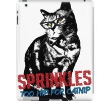 Hipster Sprinkles (series) iPad Case/Skin