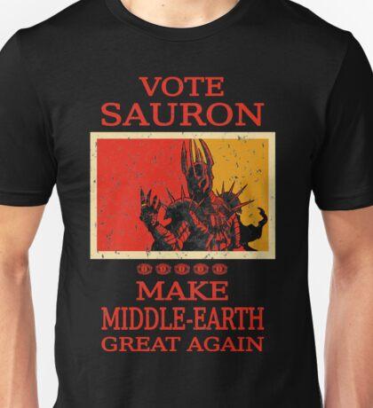 Vote Sauron Unisex T-Shirt