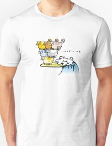 The gentle art of cat surfing (1) T-Shirt