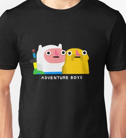 Adventure boys (white text) Unisex T-Shirt