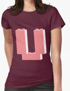 THE LETTER U  Womens Fitted T-Shirt