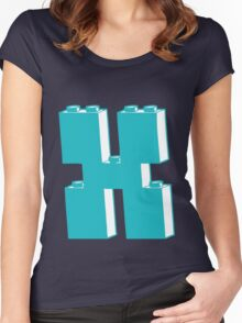 THE LETTER X Women's Fitted Scoop T-Shirt